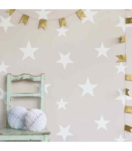 Papel pintado Estrellas Blush