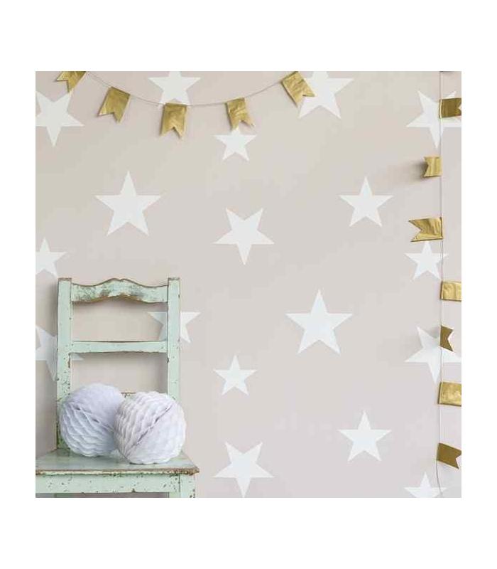 Papel pintado para ni o de estrellas disponible en varios - Modelos de papel pintado ...