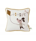 Cushion with dog