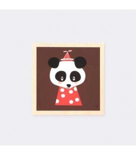Cuadro Oso Panda