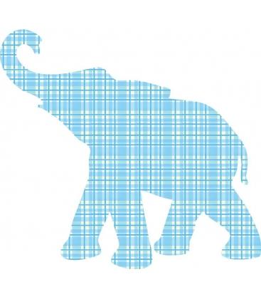 Papel Pintado Mini Elefante