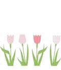 Papel Pintado Tulipanes