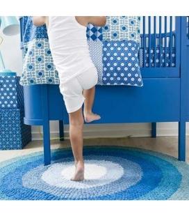 Cuna extensible diseño Danés Azul