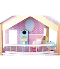 Casa de muñecas Tejado Azul