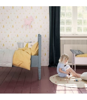 Colcha Stick amarilla