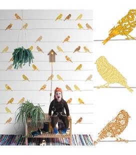 Murale d'oiseaux